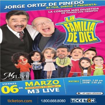 CANCELED-LA FAMILIA DE DIEZ COMO LO VES EN TV 3PM: Main Image