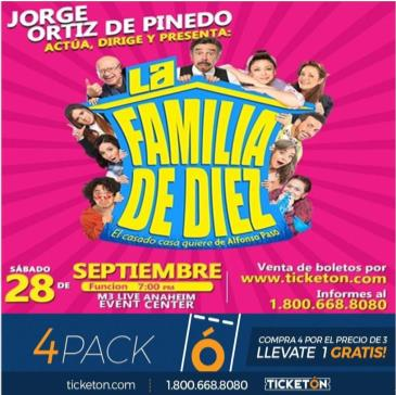 CANCELED-LA FAMILIA DE DIEZ COMO LO VES EN TV 7PM: Main Image