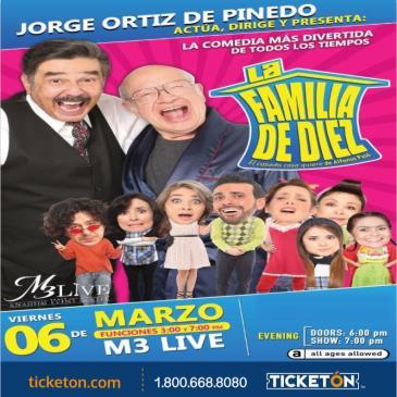 LA FAMILIA DE DIEZ COMO LO VES EN TV 7PM