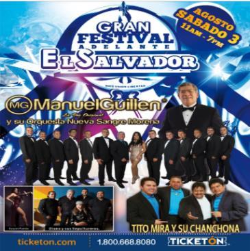 GRAN FESTIVAL ADELANTE EL SALVADOR: Main Image