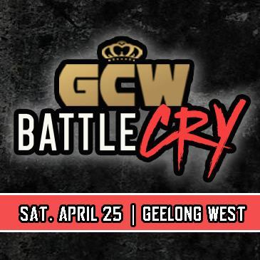 GCW BATTLECRY 2020: Main Image