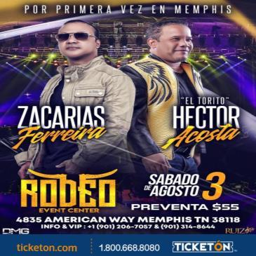 """ZACARIAS FERREIRA Y HECTOR ACOSTA """"EL TORITO"""""""