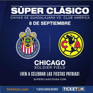 CHIVAS DE GUADALAJARA VS CLUB AMERICA