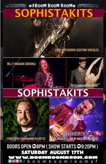 SOPHISTAKITS - Eric McFadden, Eddie Roberts, Wally Ingram ++: Main Image