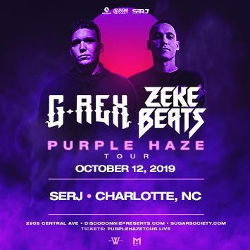 G-Rex & ZEKE BEATS - CHARLOTTE: Main Image