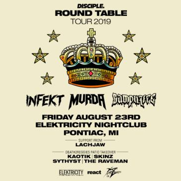 DISCIPLE ROUND TABLE TOUR W/ INFEKT, MVRDA, & SAMPLIFIRE-img