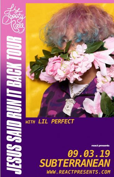 lilbootycall - Jesus Said Run it Back Tour: Main Image