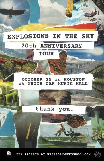 Explosions in the Sky 20th Anniversary Tour: Main Image