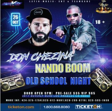 DON CHEZINA / NANDO BOOM: Main Image