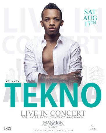 Tekno LIVE in Concert: Main Image