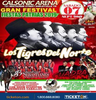 """LOS TIGRES DEL NORTE """"FIESTAS PATRIAS"""": Main Image"""