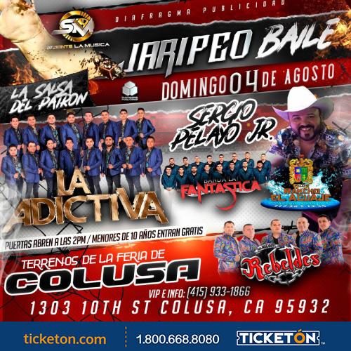 Jaripeo Aguaje Colusa Tickets Boletos Terrenos de Feria
