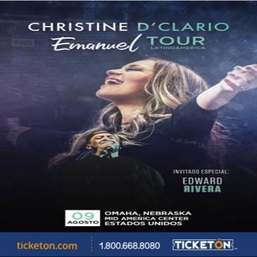 CHRISTINE D'CLARIO - EMANUEL TOUR