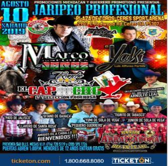 Jaripeo Profesional Ceres Tickets Boletos Plaza de Toros