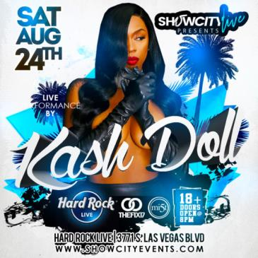 KASH DOLL PERFORMING LIVE: Main Image