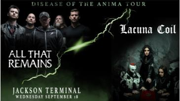 All That Remains & Lacuna Coil: Main Image