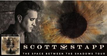 """Scott Stapp of Creed & Messer """"Space Between Shadows"""" Tour:"""