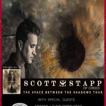 """Scott Stapp of Creed & Messer """"Space Between Shadows"""" Tour-img"""