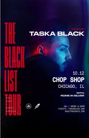 "Taska Black ""The Black List Tour"": Main Image"
