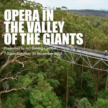 Opera In The Valley Of The Giants: Main Image