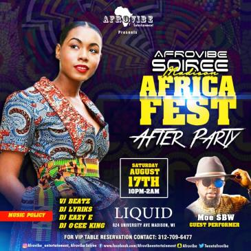 AFRICA FEST AFTER PARTY: Main Image