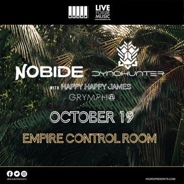 Nobide & Dynohunter with Happy Happy James & Grympho: Main Image