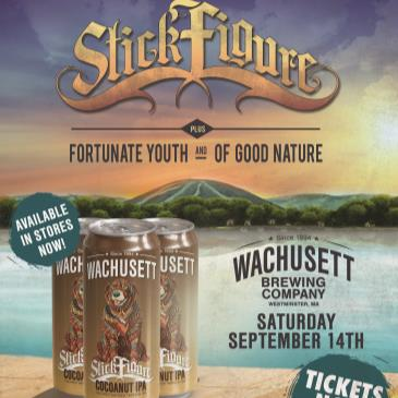 Wachusett Brewing 25th Anniversary Concert with Stick Figure-img