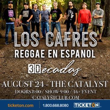 LOS CAFRES - 3 DÉCADAS TOUR