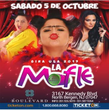 """ LA MOFLE"" FLOR MARIA PALOMEQUE: Main Image"