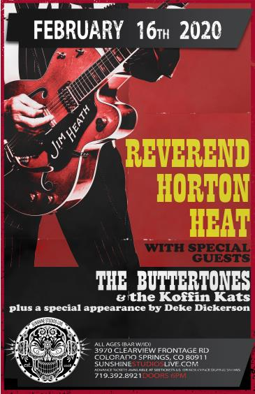 Reverend Horton Heat: Main Image
