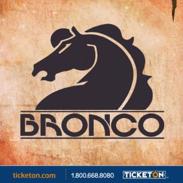 "BRONCO ""POR MAS US TOUR 2019"