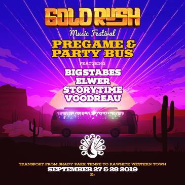 Goldrush 2019 - Pregame & Party Bus: Main Image