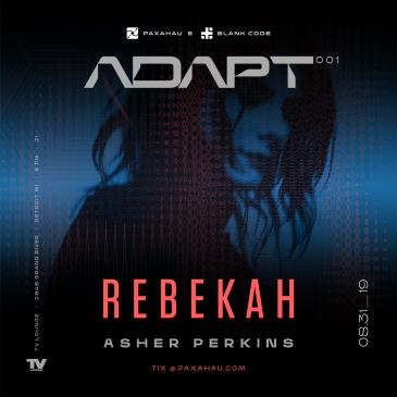 Paxahau and Blank Code Present: ADAPT 001: Main Image