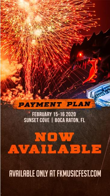 FORBIDDEN KINGDOM MUSIC FESTIVAL 2020 - PAYMENT PLANS: Main Image