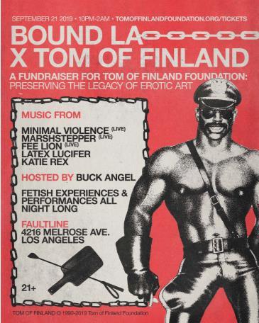 BOUND x Tom of Finland: