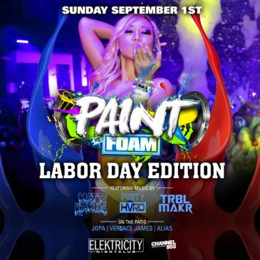 PAINT VS FOAM | LABOR DAY EDITION: Main Image