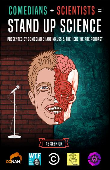 Shane Mauss presents Stand Up Science!: Main Image