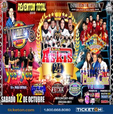 ASKIS, Winners, Misael Cruz, Los Yesyes, Maravilla | ELGIN: Main Image