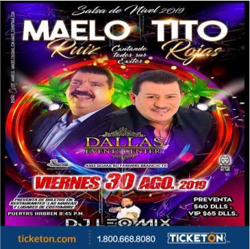 MAELO RUIZ Y TITO ROJAS: Main Image