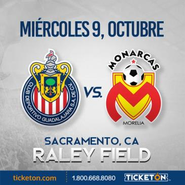 CHIVAS VS MONARCAS