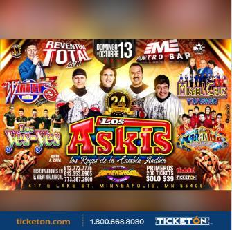 LOS ASKIS | WINNERS | MISAEL CRUZ | MARAVILLA | LOS YESYES: Main Image