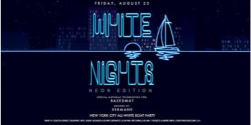 All White Affair White Nights NEON EDITION Boat Party NYC: Main Image
