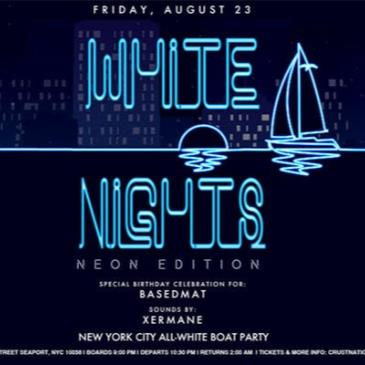 All White Affair White Nights NEON EDITION Boat Party NYC-img