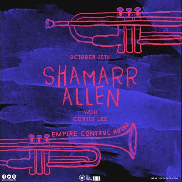 Shamarr Allen with Curtis Lee CANCELLED: Main Image