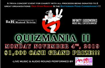 "BaR Rated Entertainment presents ""QuizMania 2"": Main Image"