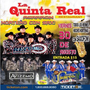 Agarron Norteño Compton Tickets Boletos La Quinta Real