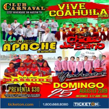 VIVE COAHUILA 2019
