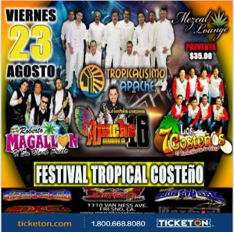 FESTIVAL TROPICAL COSTEÑO: Main Image