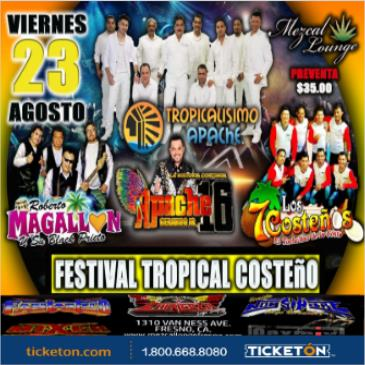 FESTIVAL TROPICAL COSTEÑO