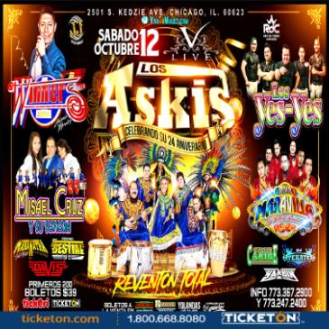 ASKIS, Winners, Misael Cruz, Los Yesyes, Maravilla | Chicago